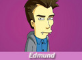 Daniel as Edmund in The simpsons - daniel-radcliffe fan art