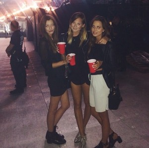 Danielle Bernstein's Instagram post with Eleanor and Sophia