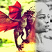 Dany and Drogon - daenerys-targaryen icon