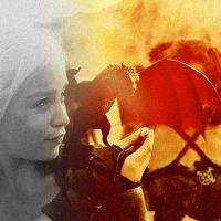 Dany and Drogon