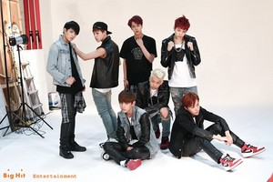 Dark and Wild photoshoot bts