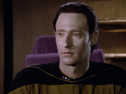 bintang Trek-The seterusnya Generation kertas dinding titled Data