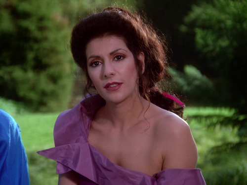 Star Trek-The Next Generation wallpaper probably containing a top, a sundress, and a blouse called Deanna Troi
