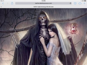 Death and his bride