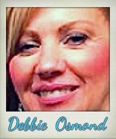 The Debra Glenn Osmond peminat Page kertas dinding containing a portrait titled Debbie Osmond
