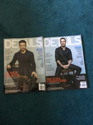 Details Magazine Covers