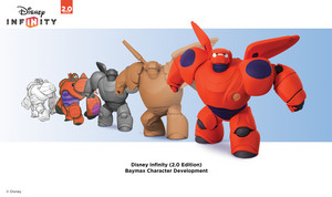 Disney Infinity 2.0 Edition Baymax Character Development