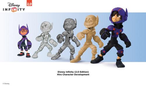 Big Hero 6 fond d'écran probably containing animé called Disney Infinity 2.0 Edition Hiro Character Development