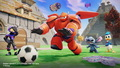 Disney Infinity 2.0 Toybox Screenshots featuring Hiro and Baymax