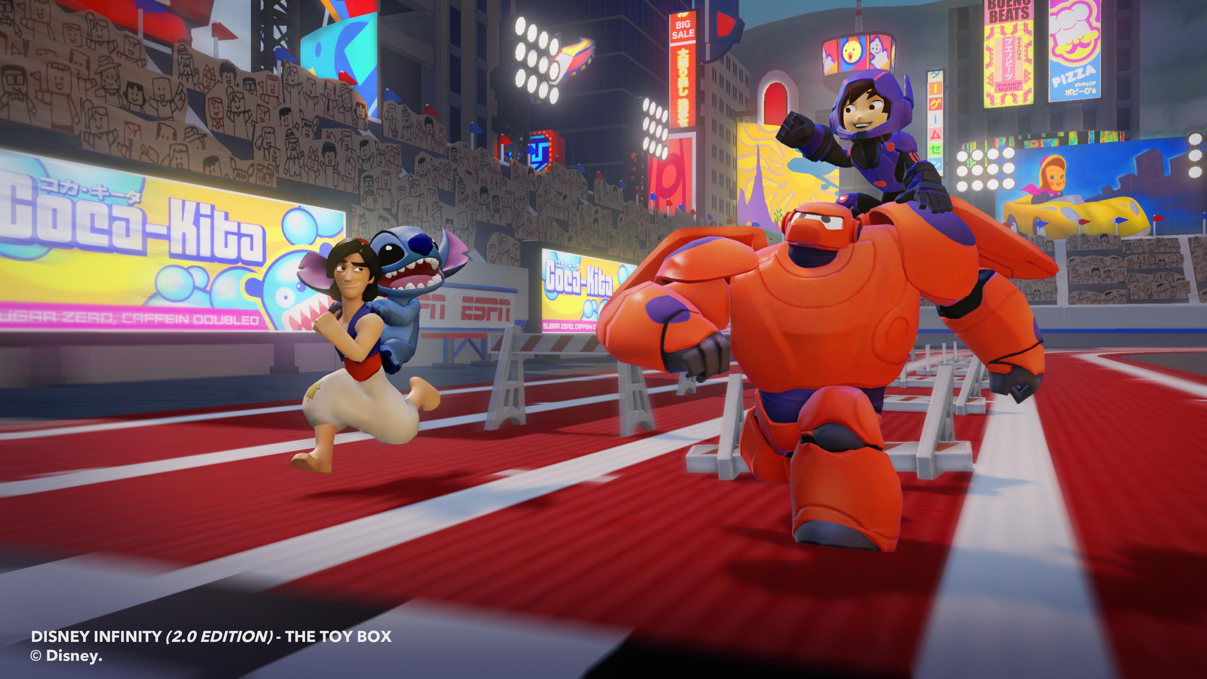 Big hero 6 disney infinity 2 0 toybox screenshots featuring hiro and