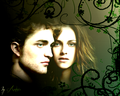 Edward&Bella - twilight-movie wallpaper
