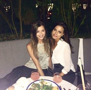 Eleanor and Sophia in NYC