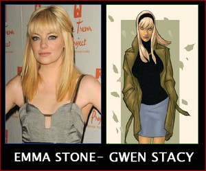 Emma Stone-Gwen Stacy