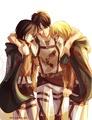 Eren/Mikasa/Armin