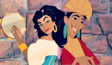 Esmeralda and Kuzco