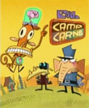 Cartoon Network wallpaper with anime titled Evil Camp Carne