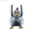 Falling baby - penguins-of-madagascar fan art