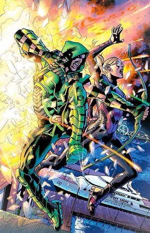 Felicity in the New 52 Green Arrow Series Comics