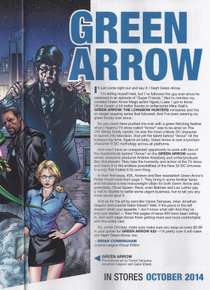 Felicity in the New 52 Green Arrow Series