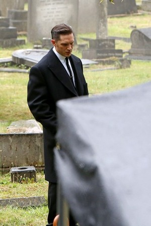 Filming Funeral Scene for 'Legend'