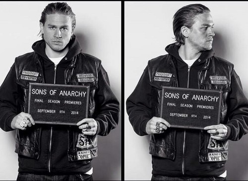 Sons Of Anarchy wallpaper entitled Final Season Mugshot