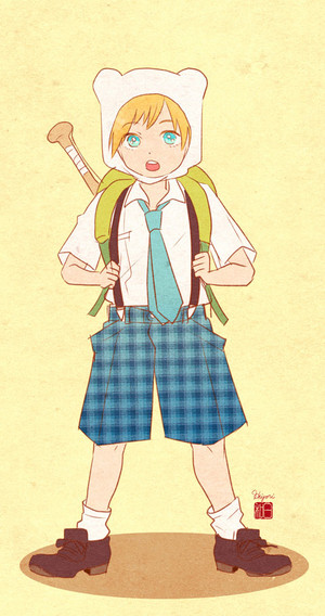 Finn school uniform