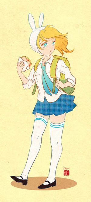 Fionna school uniform
