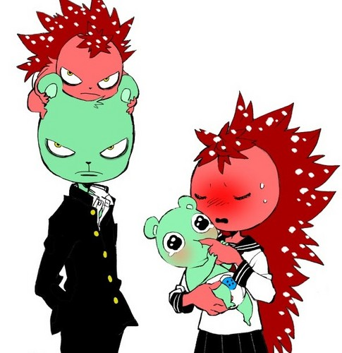 Happy Tree Friends wallpaper containing anime entitled Flippy and Flaky and their kids