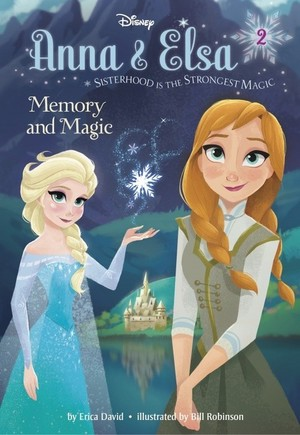 Frozen - Anna and Elsa 2 Memory and Magic Book