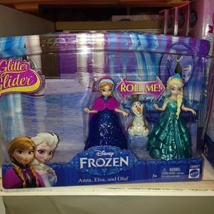 Nữ hoàng băng giá Glitter Glider Anna Elsa and Olaf