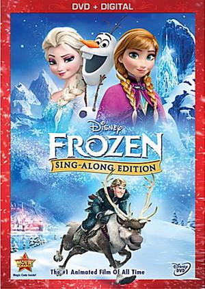アナと雪の女王 Sing-Along Edition DVD