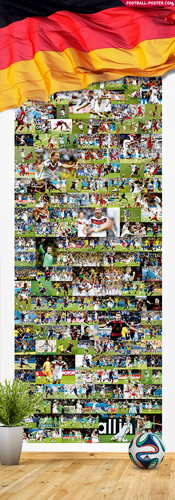 Soccer wallpaper called GERMANY NATIONAL TEAM poster 2014