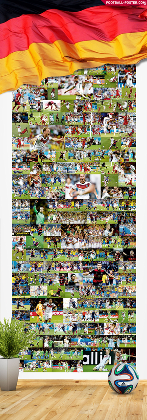 GERMANY NATIONAL TEAM poster 2014