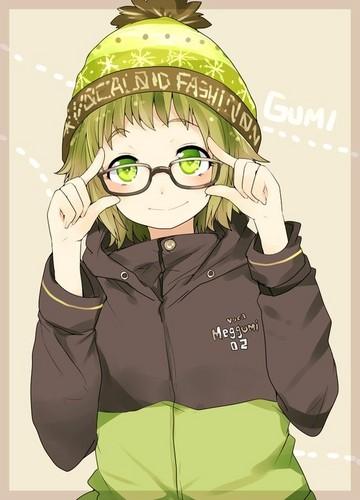 Gumi (Vocaloids) fondo de pantalla entitled GUMI / Megpoid