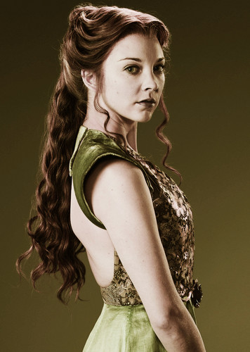 Game of Thrones wallpaper possibly containing a dinner dress, a cocktail dress, and a strapless titled Margaery Tyrell