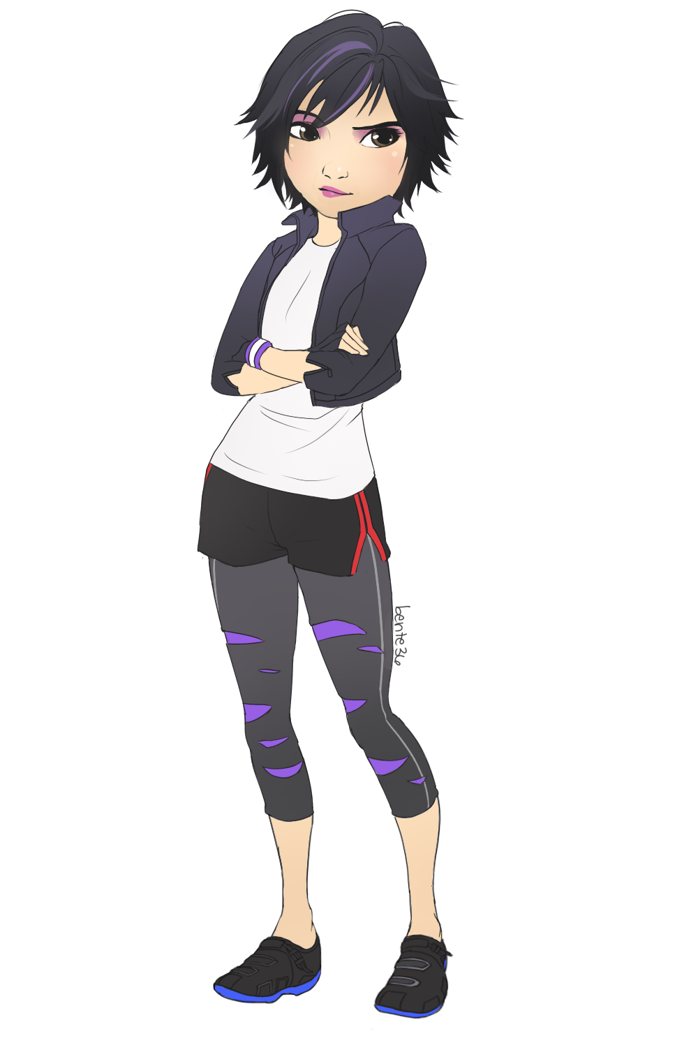Hiro And Gogo Fanart GoGo Tomago - big-hero-6 Fan