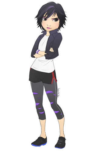Big Hero 6 Hintergrund possibly with a legging and tights called GoGo Tomago