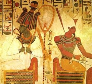 God of The Underworld Osiris