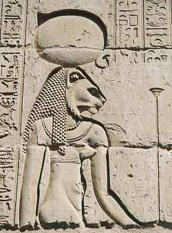 Goddess Tefnut