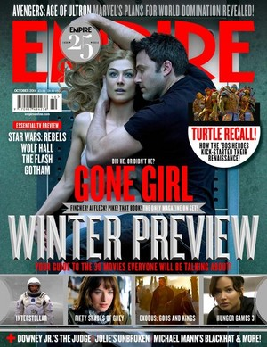 Gone Girl - Empire Magazine Cover - October 2014