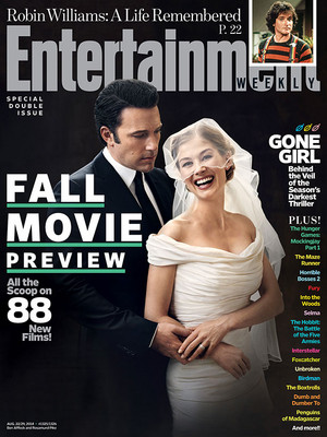 Gone Girl - Entertainment Weekly Cover - August 22/29, 2014