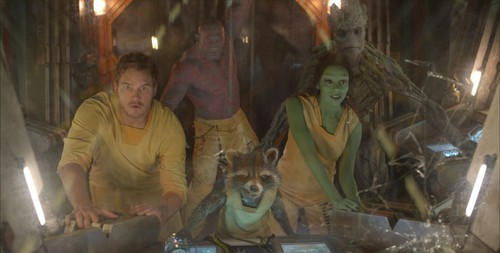 Guardians of the Galaxy 바탕화면 with an abattoir titled Guardians Of The Galaxy