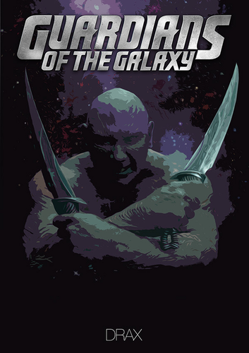Guardians of the Galaxy hình nền containing anime titled Guardians of the Galaxy [Drax the Destroyer]