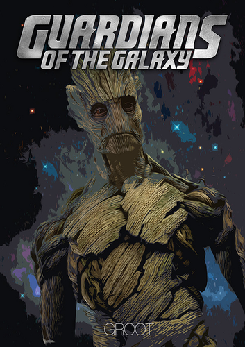 Guardians of the Galaxy 바탕화면 with 아니메 titled Guardians of the Galaxy [Groot]