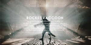 Guardians of the Galaxy [Rocket Raccoon]