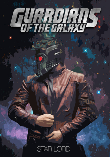 Guardians of the Galaxy 바탕화면 containing a gasmask called Guardians of the Galaxy [StarLord]