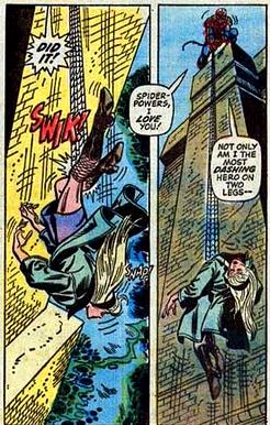 Gwen Stacy dies.