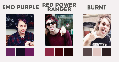 Michael Clifford Hair Timeline Michael Clifford image...