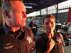 Hank Voight and Erin Lindsay