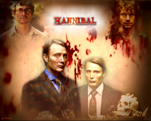 Hannibal TV Series wallpaper with a business suit, a suit, and a dress suit titled Hannibal Lecter